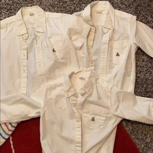 4T GAP button downs
